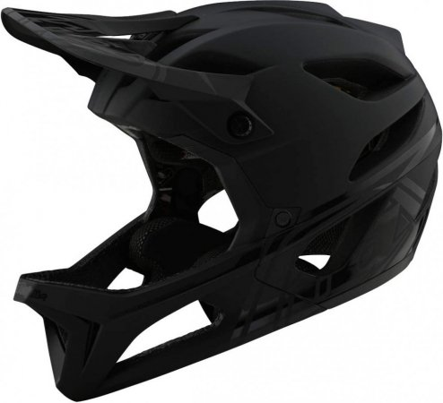 Troy Lee Designs Stage Mips Stealth Midnight