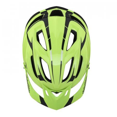 Troy Lee Designs A2 Mips Silver Green/Gray