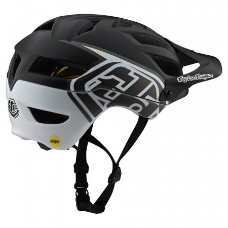 Troy Lee Designs A1 Mips Classic Black/White