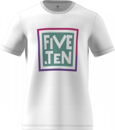 Tričko Five Ten Logo GFX TEE White