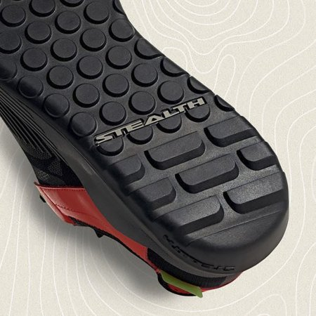 Boty Five Ten Trail Cross LT Black Grey Solar Red - Velikost EUR: 44