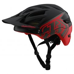 Troy Lee Designs A1 Mips Classic Black/Red